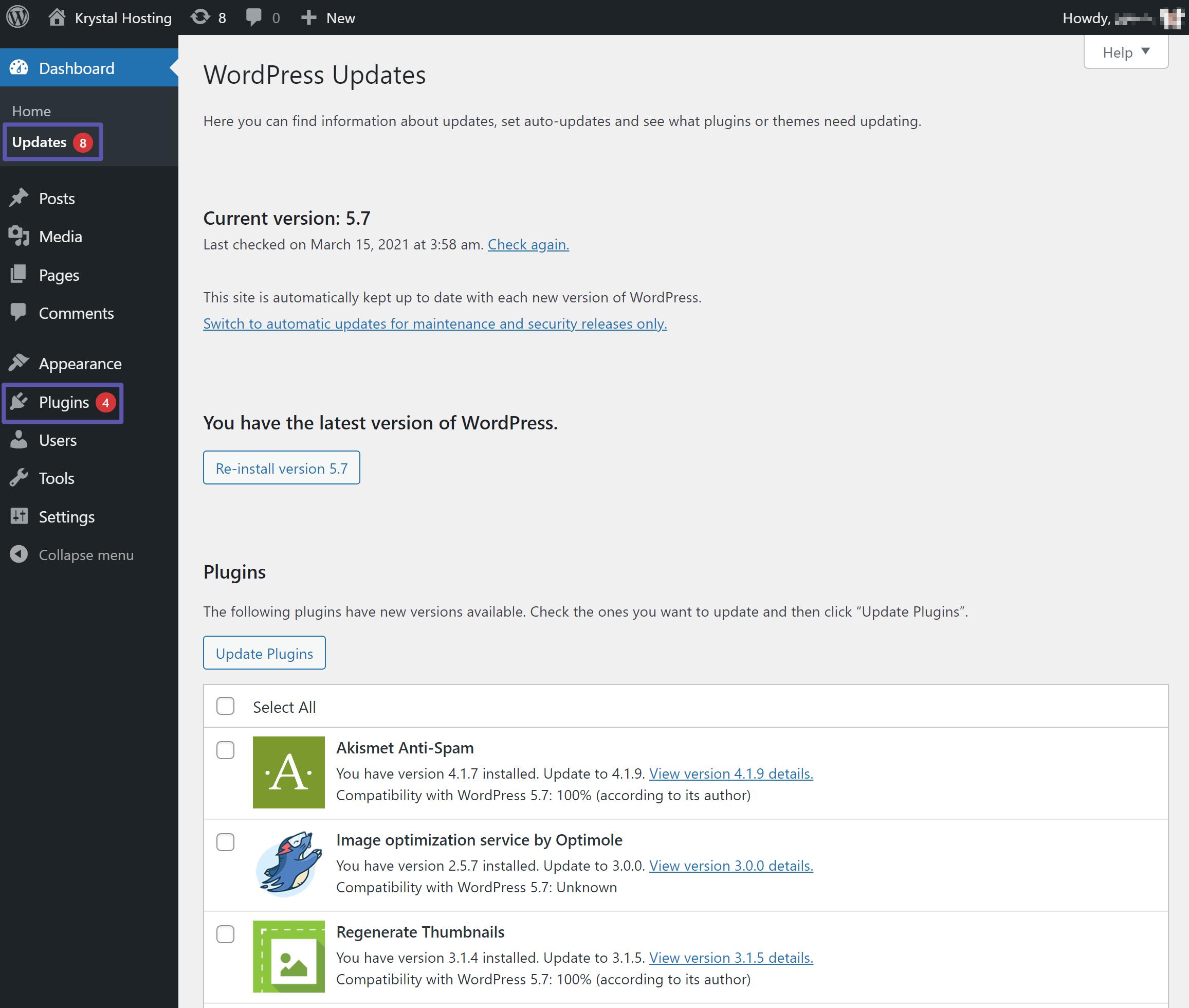 wordpress-security-1-updates